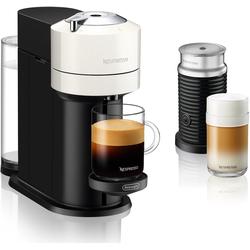 Nespresso Kapselmaschine ENV 120.WAE Vertuo Next inkl. Aeroccino Milchaufschäumer, weiß