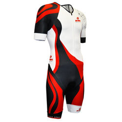 BV Sport Triathlon 3x200 - Triathlonanzung - Herren White/Black/Red XL