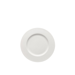 Rosenthal Frühstücksteller Brillance Weiß Frühstücksteller 23 cm Fahne, (1 Stück)