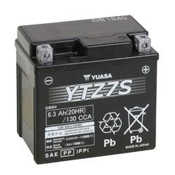 Iboxx Motorrad-Batterie  Gel, YTZ7S, 12 Volt 6 Ah
