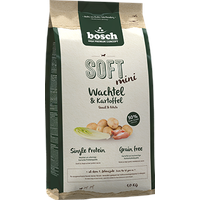 Bosch Tiernahrung Soft Mini Wachtel & Kartoffel 1 kg