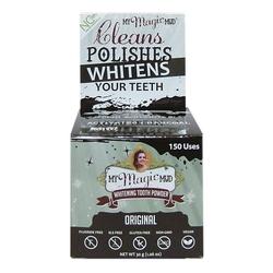 Bleichendes Zahnpulver
