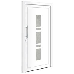 RORO Türen & Fenster Haustür OTTO 19, BxH: 100x210 cm, weiß, ohne Griffgarnitur