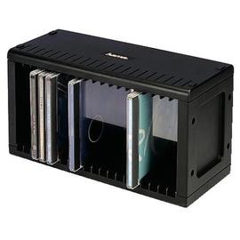 hama cd rack 20 schwarz ab 7 32 im. Black Bedroom Furniture Sets. Home Design Ideas