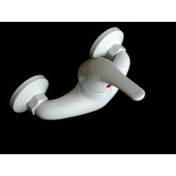 Einhebel Dusche Bad Armatur weiß