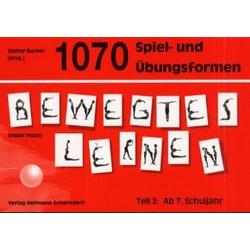 1070 Spiel- und Übungsformen Bewegtes Lernen