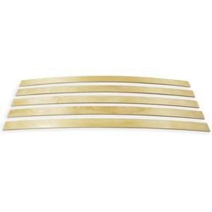 wiedergutschlafen Ersatz Federholzleisten 5-er Paket viele Längen Breite 63 mm Höhe 8 mm Lattenrost Ersatzteile (820)