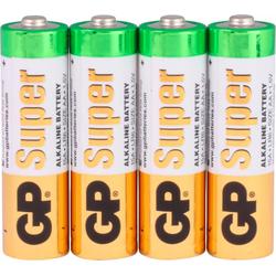 GP Batteries Super Alkaline AA Batterie, LR06 (1,5 V, 4 St)