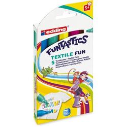 Funtastics Textil Fun Marker 5er Set