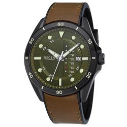 Regent BA-637 Herren-Armbanduhr 10 Bar Wasserdicht Ø 44 mm