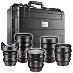 walimex pro Video UWW-Portrait Set 5x Canon EF Objektiv
