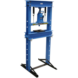 GÜDE Werkstattpresse WP 20 T, 20 Tonnen Pressdruck blau