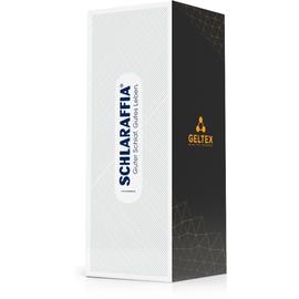 SCHLARAFFIA Geltex Quantum 180 180 x 200 cm H2 inkl. gratis Reisekissen