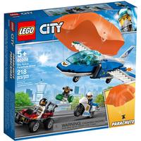 Lego City Polizei Flucht mit Fallschirm 60208