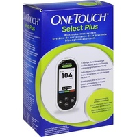 ONETOUCH Select Plus Blutzuckermesssystem mg/dl 1 St