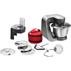 BOSCH Küchenmaschine HomeProfessional MUM59N26DE, 1000 W, 3,9 l Schüssel schwarz
