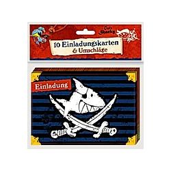 Einladungskarten - Capt'n Sharky - Einladung - Buch