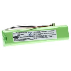 vhbw Akku Ersatz für Fluke BP1735 für Multimeter, Messgerät (2500mAh 7.2V NiMH)