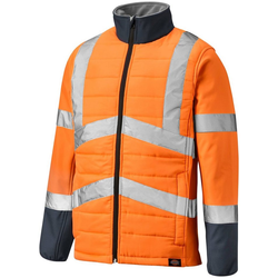 Dickies Arbeitsjacke LOUDON mit Reflexstreifen orange S