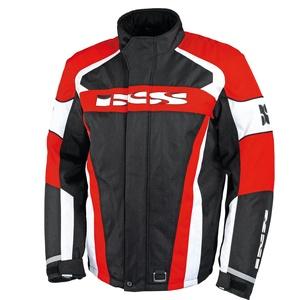 IXS Nimbus, Textiljacke - Schwarz/Rot/Weiß - S