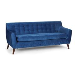 Sitzgarnitur nordic, 3 sitzplätze, blau