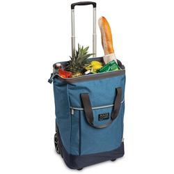 fabrizio® Einkaufstrolley Punta Wheel, 40 l blau