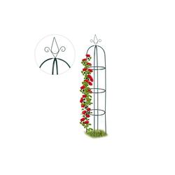 relaxdays Rankhilfe Rankhilfe Obelisk hoch