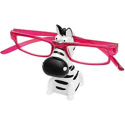 WEDO Brillenhalter Zebra schwarz/weiß