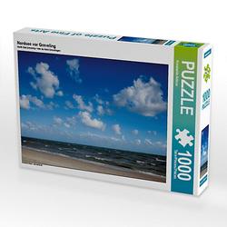 Nordsee vor Greveling Lege-Größe 64 x 48 cm Foto-Puzzle Bild von Konstantin Articus Puzzle