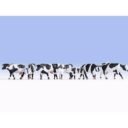 NOCH 15725 H0 Figuren Kühe schwarz-weiß