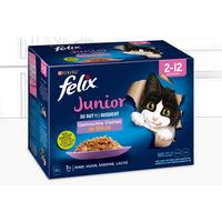 Felix So gut wie es aussieht Junior Gemischte Vielfalt 12 x 85 g