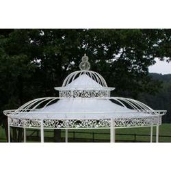 CLP Dach für Luxus Pavillon ROMANTIK (Durchmesser: 350 oder 500 cm), Wasserdichte PVC Plane