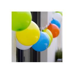 dynamic24 LED-Lichterkette Plaights, 10-flammig, LED Lichterkette Luftballons Innen Außen Deko Garten Outdoor Biergarten Licht