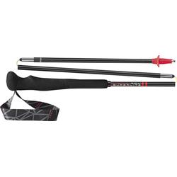 Leki Micro RCM Superlight - Trailrunning Stöcke Black/Red 125 cm
