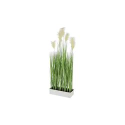 Kunstpflanze Kunstpflanze auf Metallfuß, HTI-Living, Höhe 150 cm