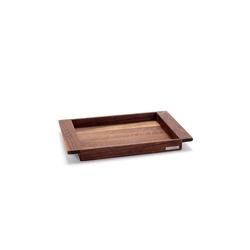 NATUREHOME Tablett NH-E Holztablett Nussbaum, div. Größen, Holz