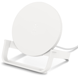 Belkin Wireless Charging Stand mit Micro-USB Kabel & NT Wireless Charger weiß