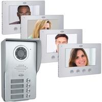 ELRO Video-Türsprechanlage Set DV477W4 4WE