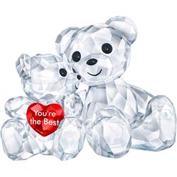 Swarovski Dekofigur Kris Bär – You are the Best, 5427994 (1 Stück), Swarovski® Kristall