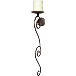 Kerzenhalter, Kerzenhalter, 37736319-0 braun braun