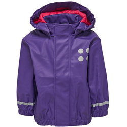 LEGO Wear Regenjacke JANE 101 lila Kinder Outdoor-Jacken Kinder-Outdoorbekleidung Outdoor Camping Jacken