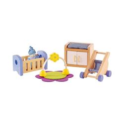 Hape Puppenhausmöbel Puppenmöbel Babyzimmer