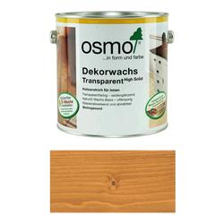 OSMO Dekorwachs Transparent 3123 Goldahorn  + Pinsel gratis  zur Bestellung Große: 0,375l