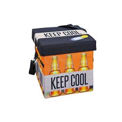 ebuy24 Aufbewahrungsbox Fabo Aufbewahrungsbox Kühltasche, Hocker, mit Deck