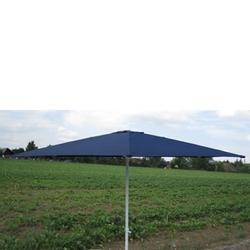 Marktschirm Sonnenschirm 300 cm blau Kurbel Gartenschirm Schirm Sonnenschutz