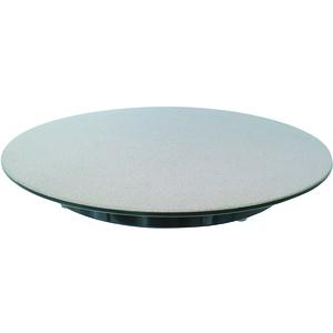 Schneider Tortenplatte Melamin silber/schwarz Durchm. 300 mm, 30 mm hoch