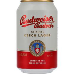 Budweiser 5% 24x0,33 ltr.