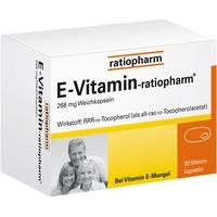 Ratiopharm E Vitamin Kapseln