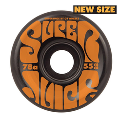 Rollen OJ - 55mm Mini Super Juice Black 78a (104020) Größe: 55mm