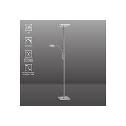SellTec LED Deckenfluter Stehlampe HANS, Fluter schwenkbar + dimmbar, flexible Leselampe